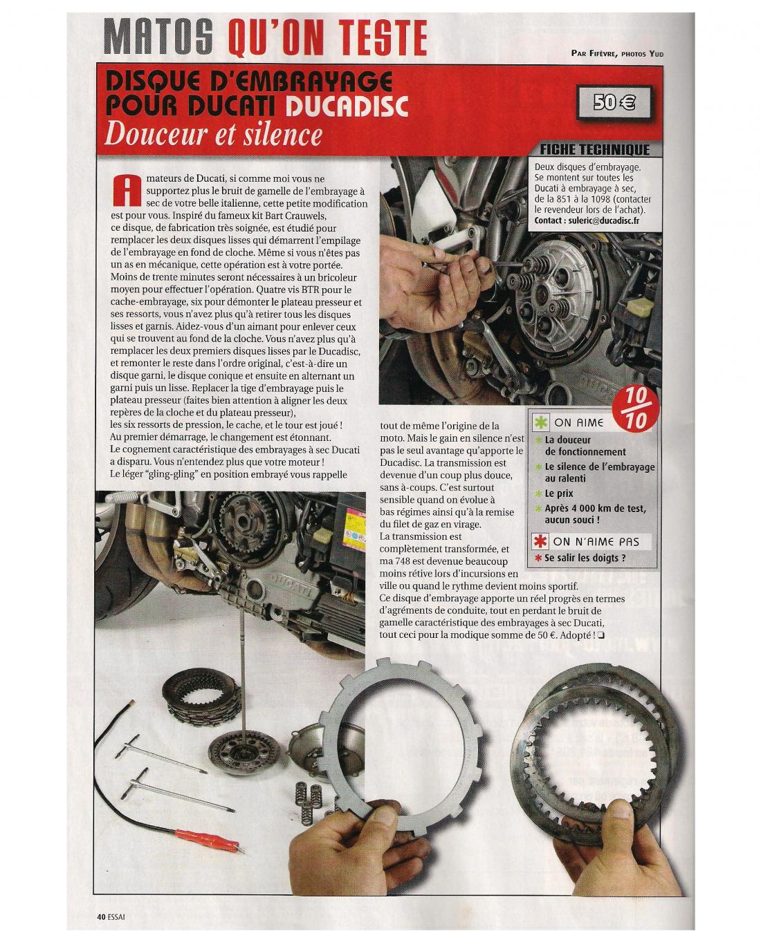 Moto journal 1937 du 20 janvier 2011 page 40